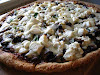 Mushroom, Ricotta, Asiago Cheese Pizza