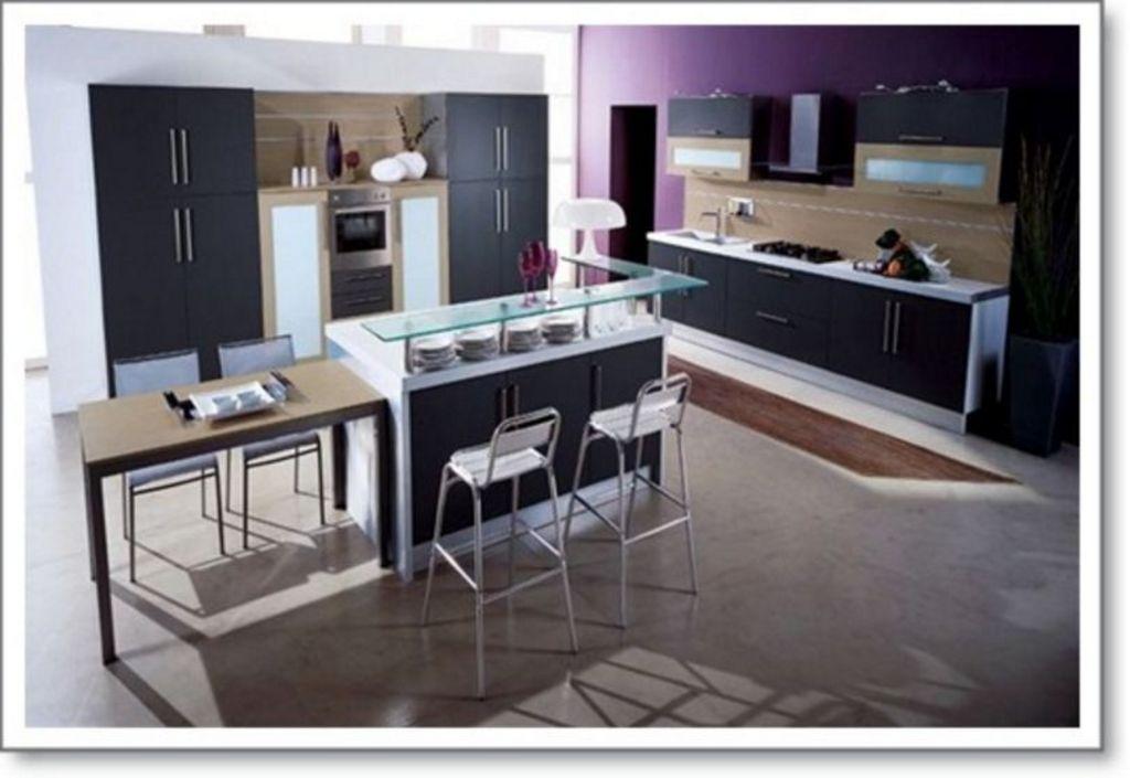 Contoh Interior Untuk Interior Dapur Modern Mewah Populer