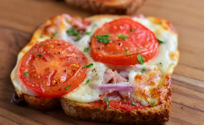 SYN FREE PIZZA TOASTS #healthyfood #diet #keto