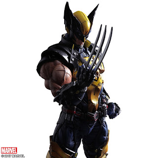 play arts kai; wolverine; figurine; square enix; marvel;