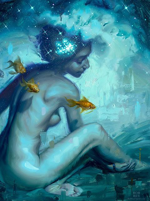 Cosmic Ocean by Rob Rey - robreyfineart.com