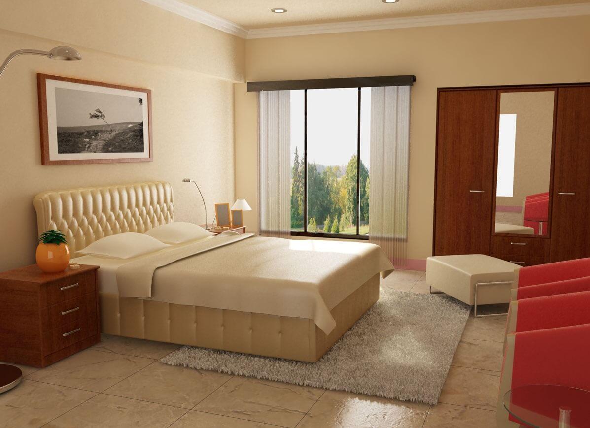 Sun Grand City Quảng An - Kê giường ngủ hợp phong thủy là điều không dễ dàng.
