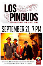 Sutter Creek Theater: Los Pinguos - Sat Sept 21
