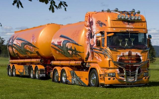 modifikasi truk hino panjang terbaru