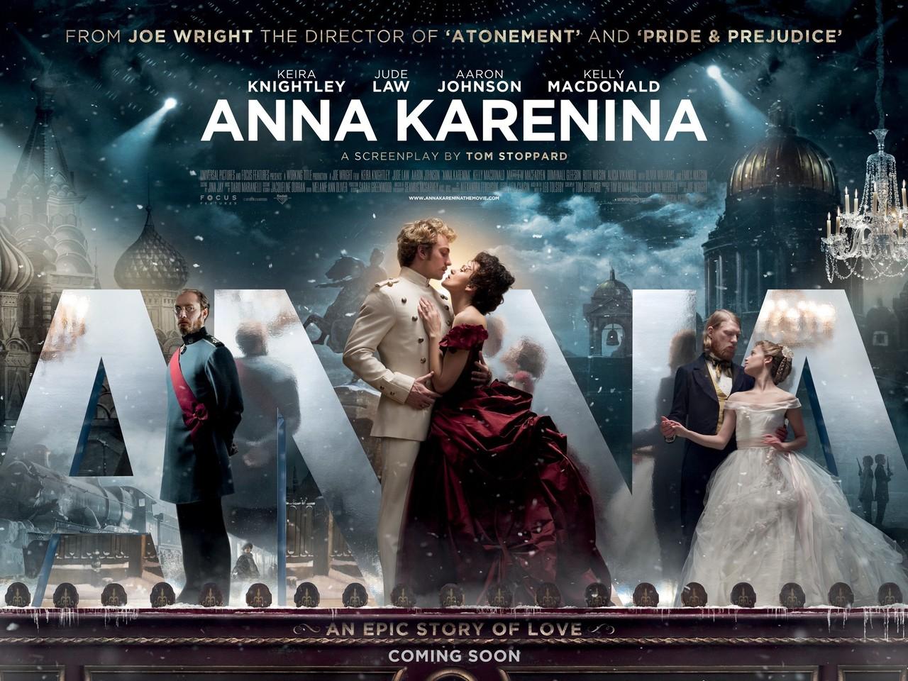 2012 Movie Poster: The Jane Austen Film Club: Anna Karenina 2012