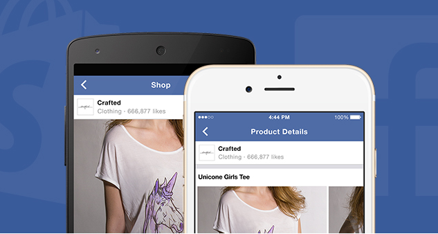 Shopify déploie la section Shop des Pages Facebook pour la vente