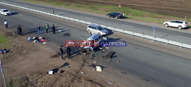 ДТП в Башкирии: погибли 6 человек ФОТО и Видео