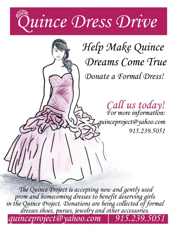 Quinceproject Dress Donation Drive 2016