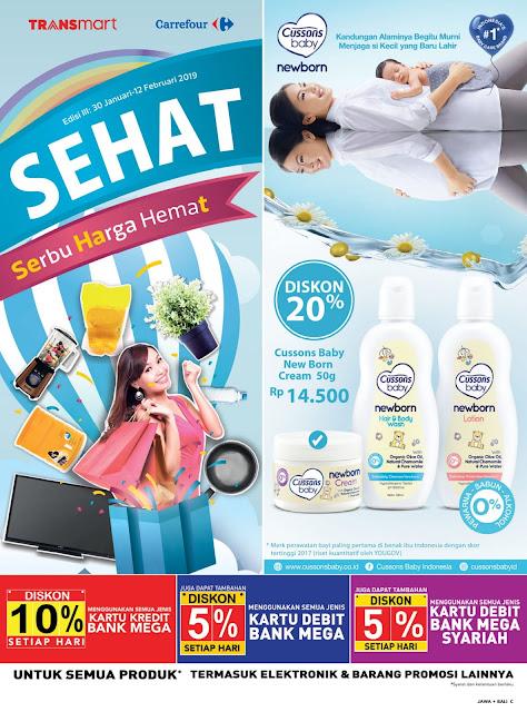 Katalog Promo Transmart Carrefour Jawa Bali Edisi 30 Januari Sampai 12 Februari 2019