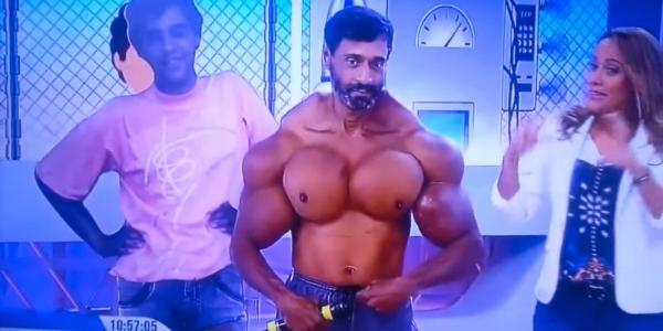 Προσοχή στη…ντόπα: Ο άντρας με τους εξωφρενικούς μυς που μεταμορφώθηκε σε ΤΕΡΑΣ!
