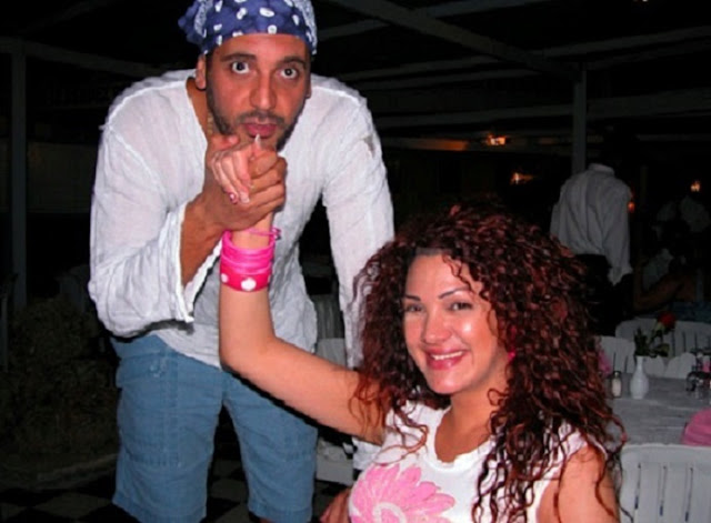 تسريب صور مخلة  لإبن القذافي وزوجته ! تفاصيل قد تسمعها لاول مرة