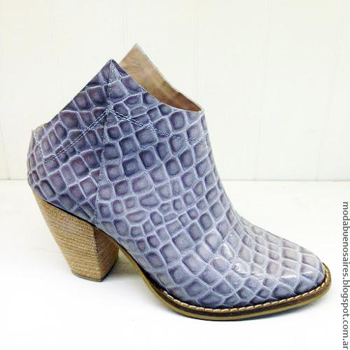 Moda verano 2017 sandalias, botas, botinetas.