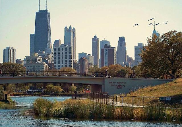 Região Lincoln Park em Chicago