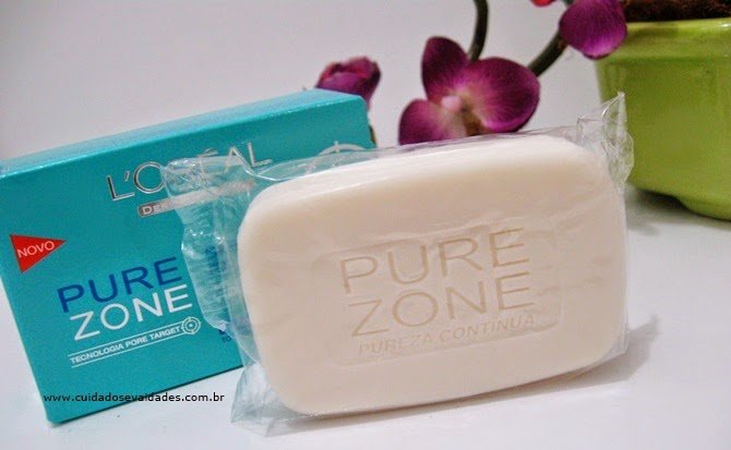 Sabonete Pure Zone L'oréal Anti-Acne