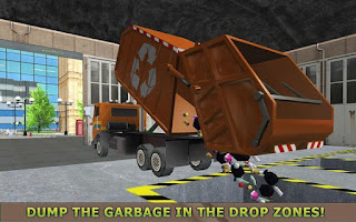 Garbage Truck Simulator PRO 2017 Apk - Free Download Android Game