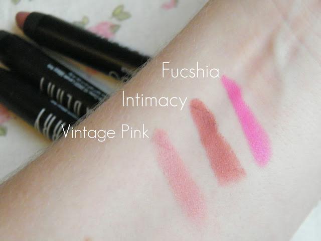 Lord Amp Berry 20100 Lipstick Crayon Swatches Jasmine