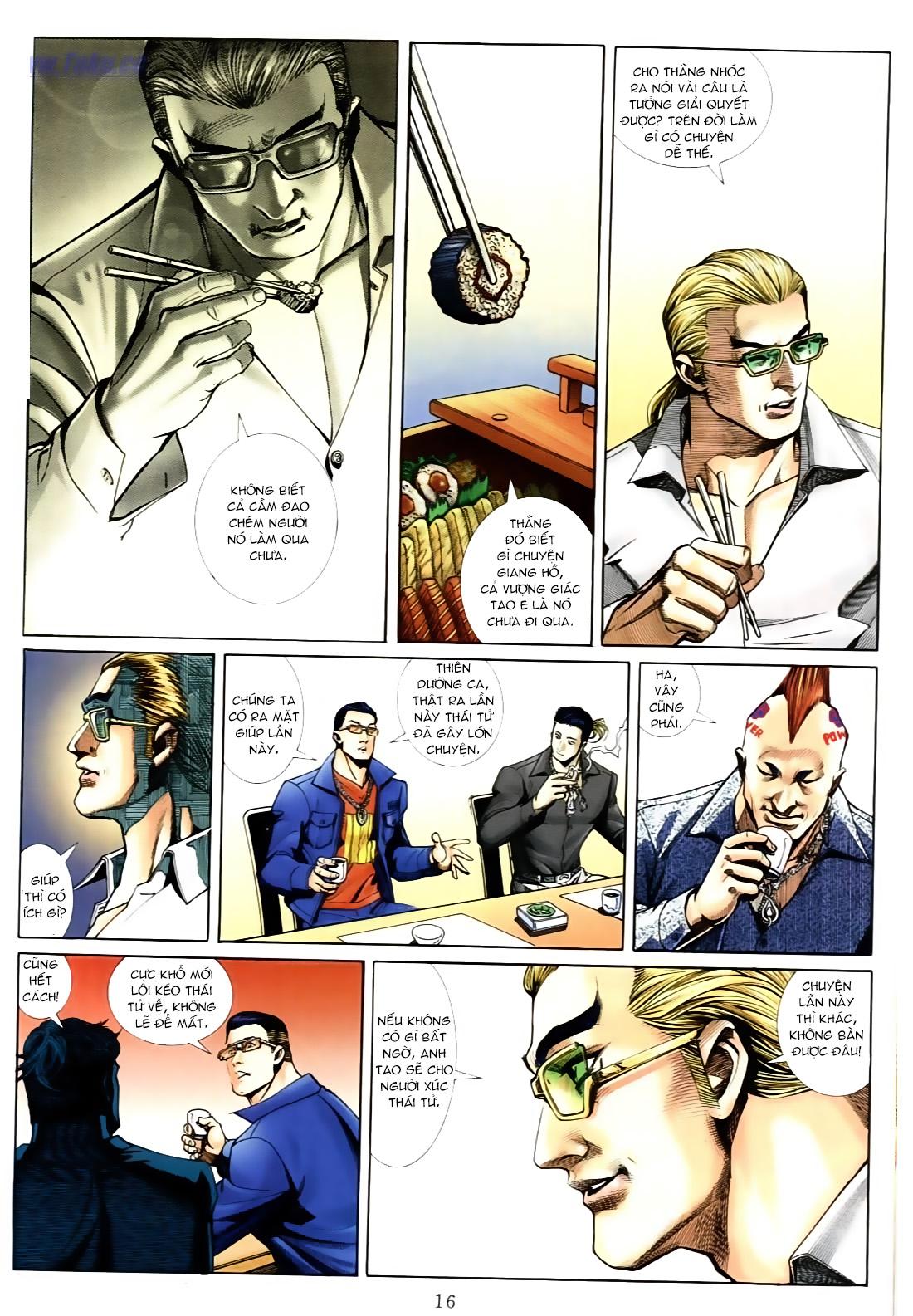 Người Trong Giang Hồ chapter 556: làm khó nam đẹp trai trang 10