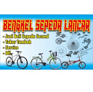 Cara membuat DEsain Banner Bengkel Sepeda dengan CorelDRAW