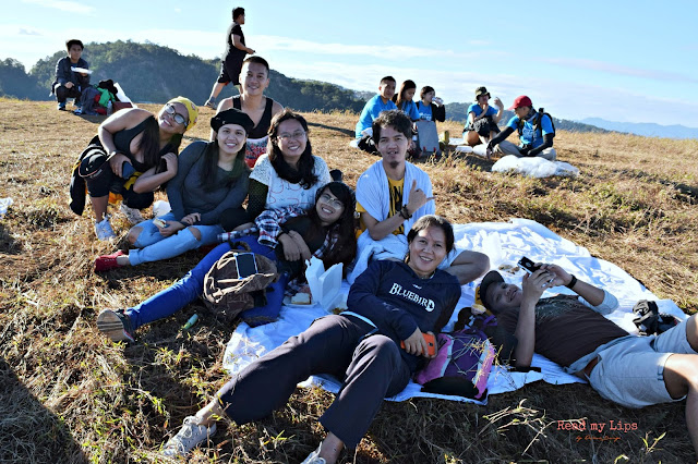 Bloggers in Mt Jumbo, Benguet