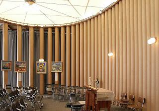 Iglesia de Papel diseñada tras el terremoto de Kobe (1995)