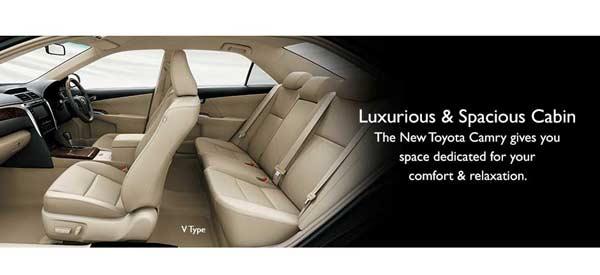 Interior New Toyota Camry