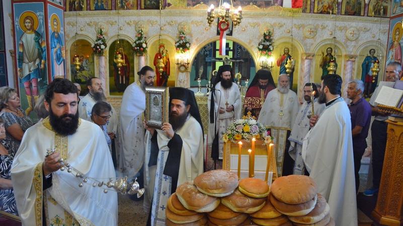 Εορτασμός Αγίου Παντελεήμονος στην Παλαγία Αλεξανδρούπολης
