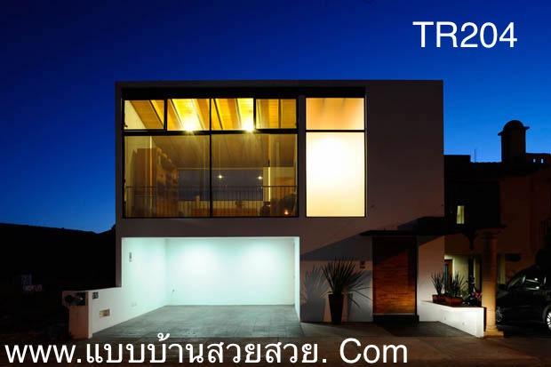 แบบบ้านสวย  บ้าน2 ชั้น TR204