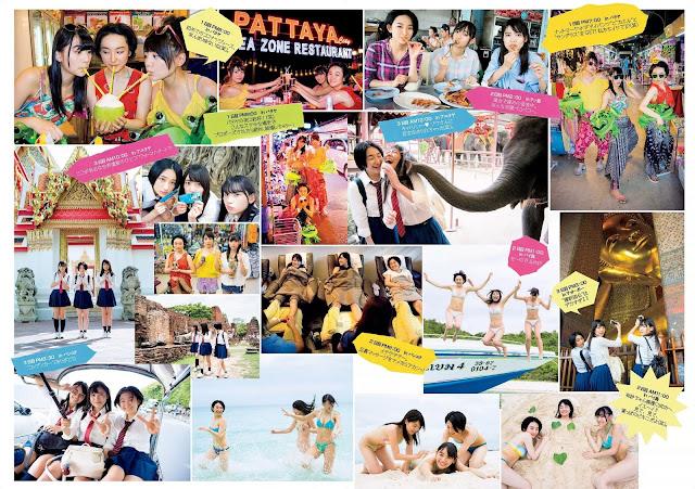 Matsunaga Arisa 松永有紗 Saotome Yu 早乙女ゆう Asakawa Nana 浅川梨奈 in Thailand Wallpaper HD 02