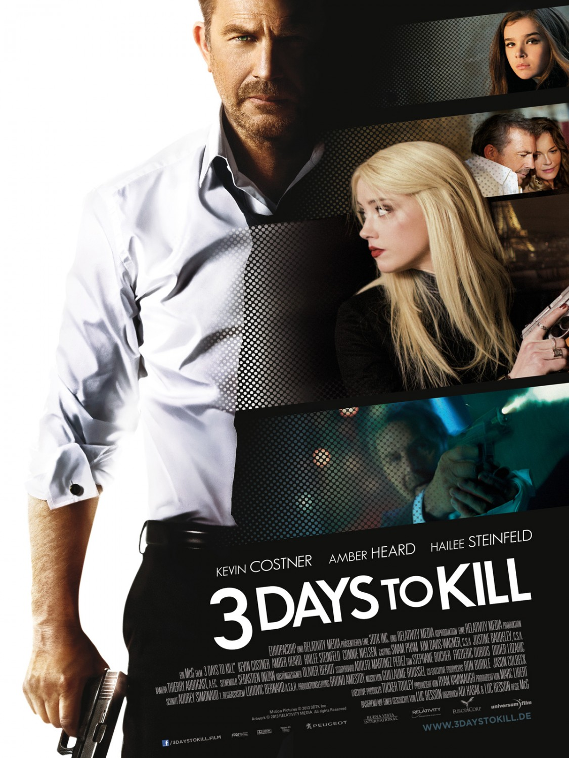 Nonton Film 3 Days to Kill (2014)