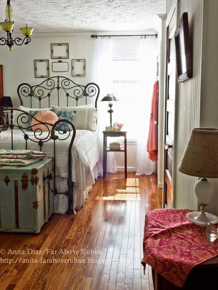 Tips de decoracin de dormitorios vintage