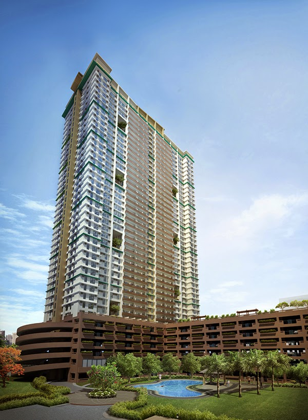 Tivoli Garden Residences Iris Tower Building Facade