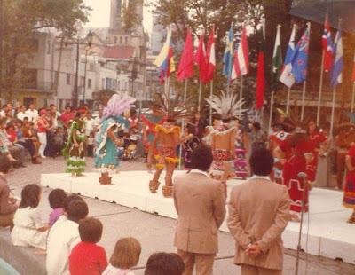 México 1981 - Inauguración del Campeonato Mundial Juvenil