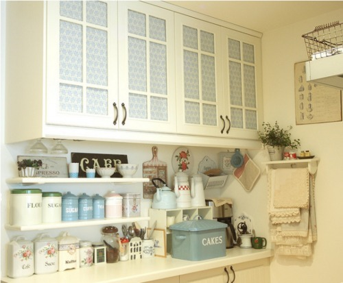 Shabby Chic - A Time To Cook Kitchen Decor Ideas 2012