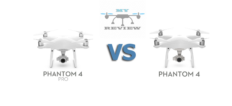 DJI PHANTOM 4 VS PRO Comparison