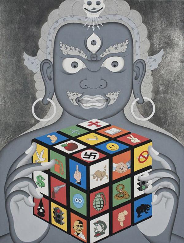 Ang Tsherin Sherpa (Tibet) - Buddhist art