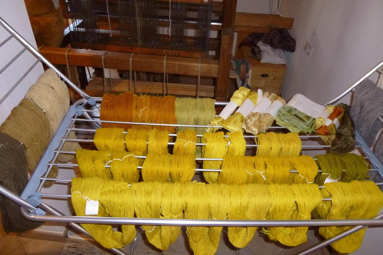 websigrid: Gelb, gelb, gelb sind alle meine Wollen