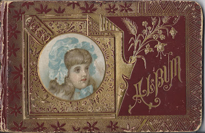1889 Autograph Book of Lula G. Stone of Oxford, Maine