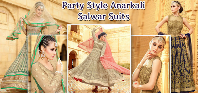Latest Fashion Trends Of Anarkali Salwar Suits Designer Dresses Online Shopping