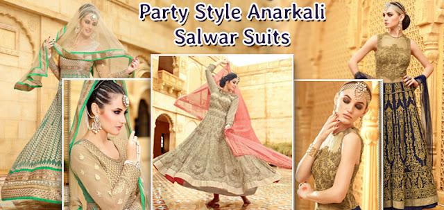 Latest Fashion Trends Of Anarkali Salwar Suits Designer Dresses Online Shopping