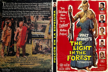 Carátula dvd: Fulgor en la espesura (1958) (The Light in the Forest)