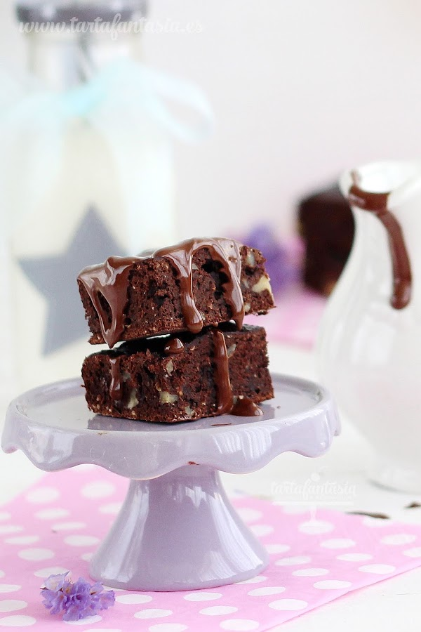 Receta de Brownie Saludable