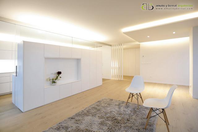 Reforma interior vivienda Amutio y Bernal Arquitectos Santander Cantabria