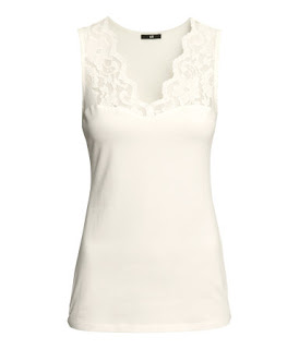 H&M - $5 Clothing Sale (Cute Lace Tank Tops!) + Free