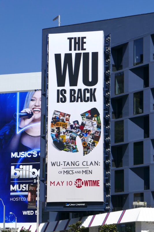 WuTang Clan Of Mics Men Showtime billboard