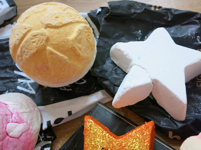 LUSH Autumn Haul 2015 Yog Nog Star Dust
