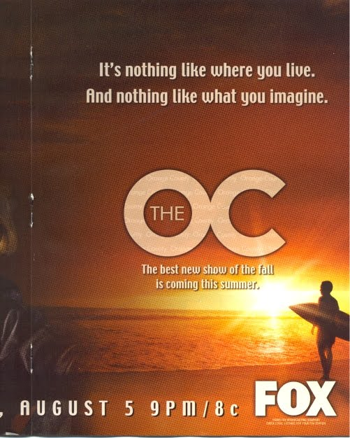 the o.c. promotional photo it's nothing like where you live. and nothing like what you imagine.