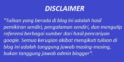 Contoh gambar ilustrasi disclaimer