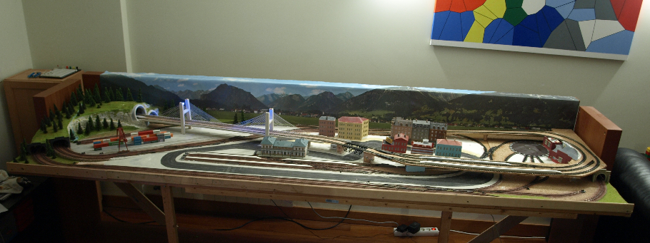 Finished N Scale DCC Train Layout | Hobby for the Hobbies