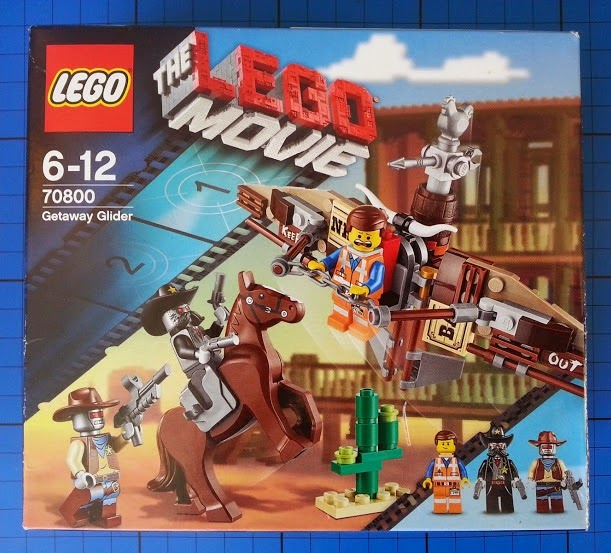 The LEGO Movie The Getaway Glider 70800