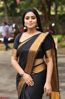 Poorna in Cute Backless Choli Saree Stunning Beauty at Avantika Movie platinum Disc Function ~  Exclusive 090.JPG